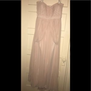 Jenny Yoo gown in Peach/pink size 24 formal plus